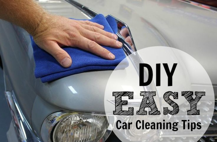 Keep your car looking clean year-round with these easy DIY car cleaning tips!    #tips #car #cartips