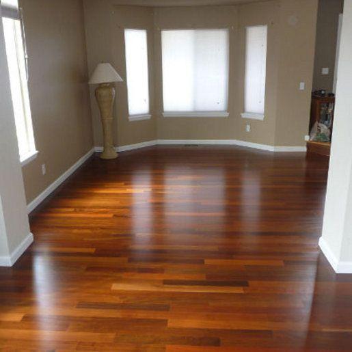 Lovely Ipe Hardwood Flooring   Clear Dark Unfinished