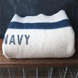 U.S. Navy Wool Blanket circa WWII