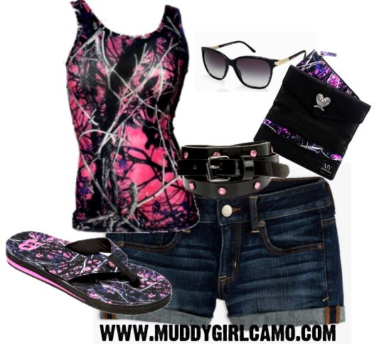 Make sure to get your Muddy Girl Camo for your Summer outfits!!