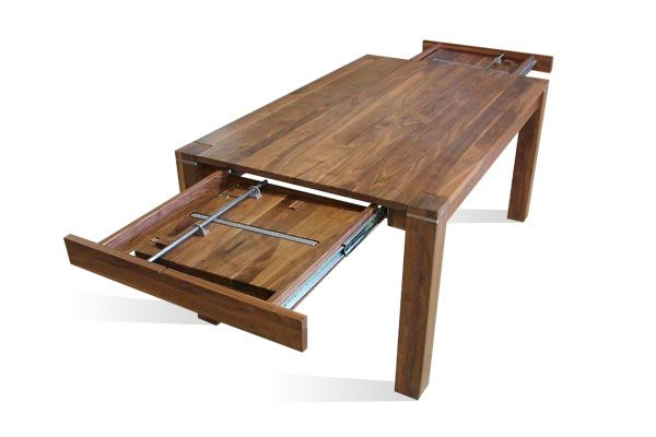 Genial Ausziehbarer Esstisch Holz