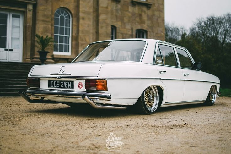 Slammed/bagged Mercedes Benz w115 HD