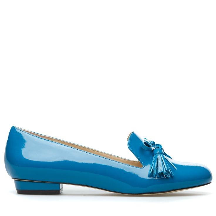 Everyone needs a great blue shoe!