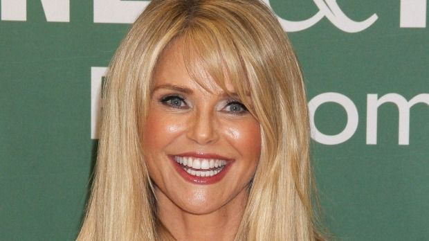 Botoxed beauty: Christie Brinkley promotes new book Timeless Beauty last week in New York.
