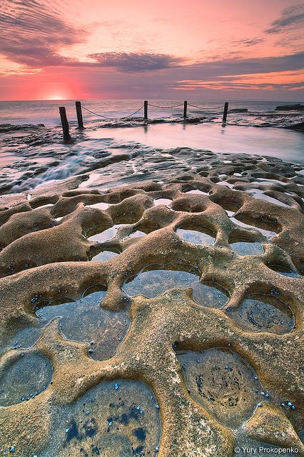 Sunrise @ South Coogee, Sydney, Australia by -yury-, via Flickr