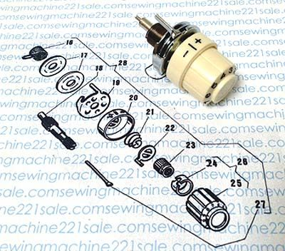 Treadle & Vintage Parts Vintage sewing machine parts for sale http://shannonssewandsew.com
