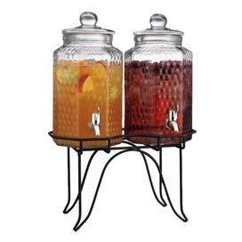 Del Sol Double Drink Dispenser with Stand