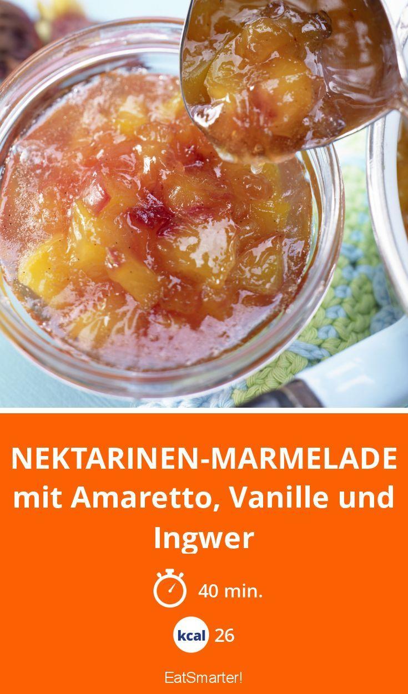 Nektarinen-Marmelade
