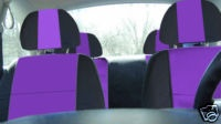 Well, purple seat covers, of course! Custom!