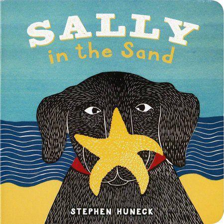 Abrams Books Sally In The Sand, Multicolor