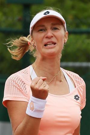 テニスのロシア代表、エカテリーナ・マカロワ選手。女王シャラポワ選手の欠場処分を受け選ばれたマカロワ選手の活躍に要注目。リオデジャネイロオリンピック・リオ五輪2016