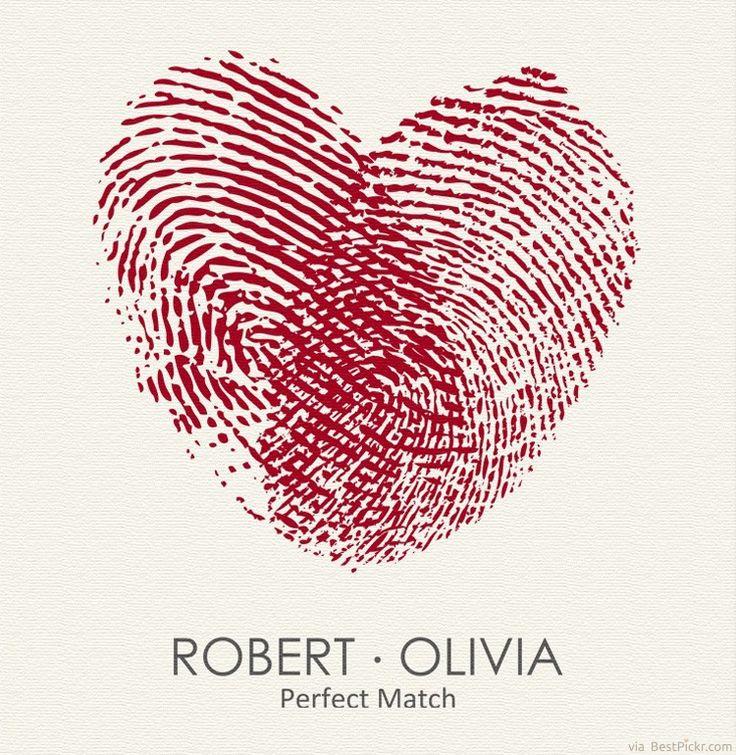 Unique Heart Fingerprints Matching Tattoos For Lovers Idea ❥❥❥ http://bestpickr.com/matching-couples-tattoos