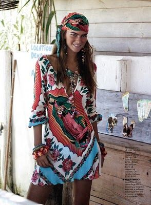 Hands down, my favorite dress I've ever seen. Lady of Guadalupe, boho dress. Must acquire.
