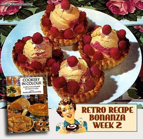 Ice Cream and Raspberry Tartlets / Småterter med Is og Bringebær