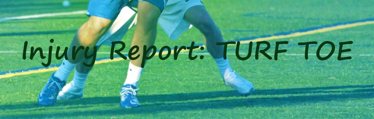 If you've been following injury reports lately TURF TOE has come up several times. What is turf toe? Why is is such a frequent injury?
