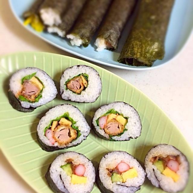 丸かじりはしませんよ笑 - 4件のもぐもぐ - 節分巻き寿司 by xxxMxxx