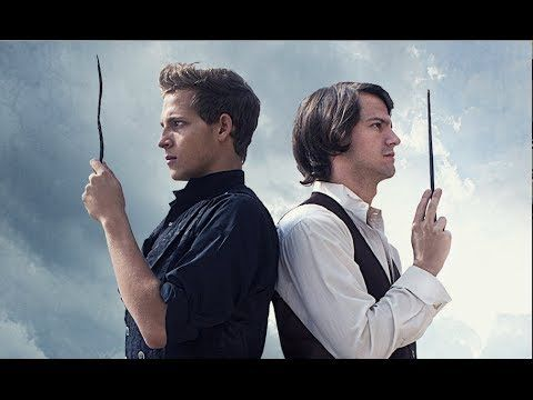 The Greater Good - Harry Potter - Dumbledore and Grindelwald (This is an AMAZING 17 min fan-film of the scene between Dumbledore, Aberforth, Arianna and Grindlewald from the 7th book!) This is well worth a watch and I don't say that lightly.