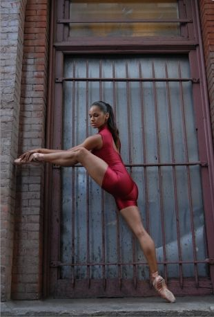Misty Copeland is an American ballerina, described by many as a prodigy who rose to ballet stardom despite not starting until the age of 13. She's the third African-American ballerina and first in two decades with American Ballet Theatre.