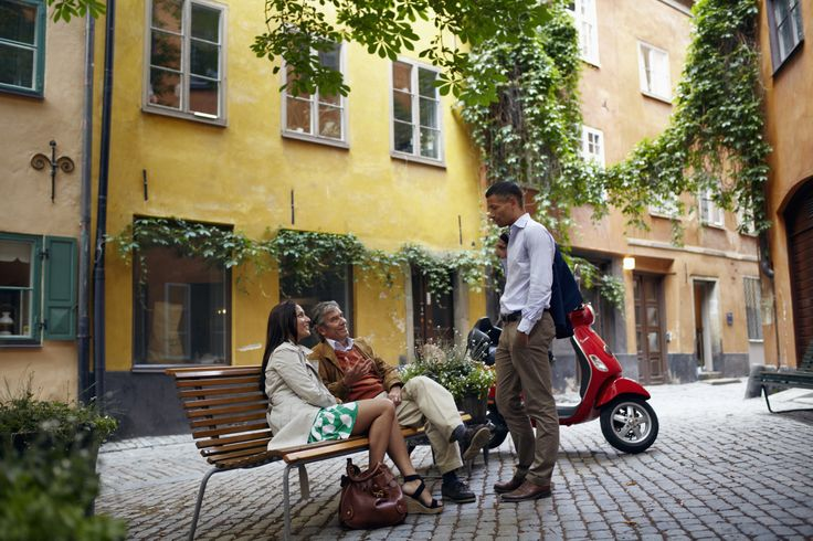 Gamla Stan is one of Europe largest and best preserved mediaeval city centers. It is one of Stockholm's foremost attractions, filled with historical remnants, restaurants, cafés and shopping. Photo :Nicho Södling