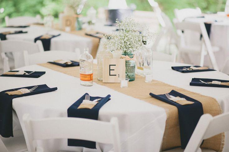 Best 25 Navy Burlap Wedding Ideas On Pinterest Country