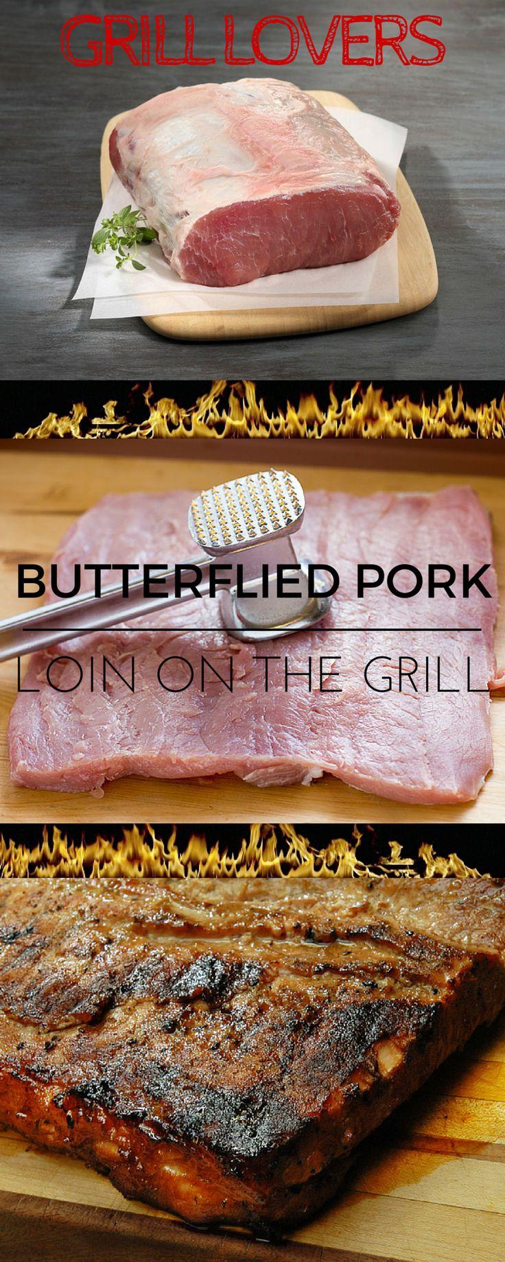 Butterflied Pork Loin On The Grill Recipe Servings 8