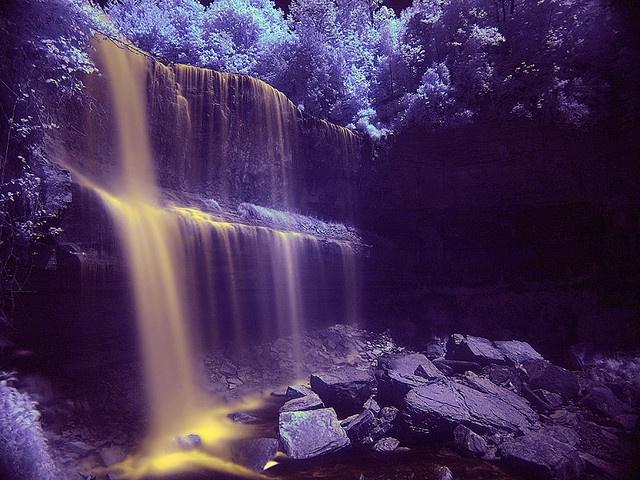 Waterfall in Hamilton, Ontario