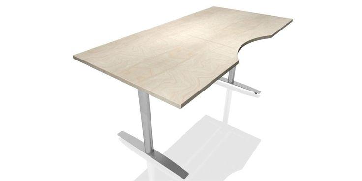 TELLUS arbeidsbord har et rektangulært design og formspråk. Serien består av en rekke ulike komponenter som kan kombineres for å dekke ditt behov, både når det gjelder funksjonalitet og optimal utnyttelse av kontorarealet.