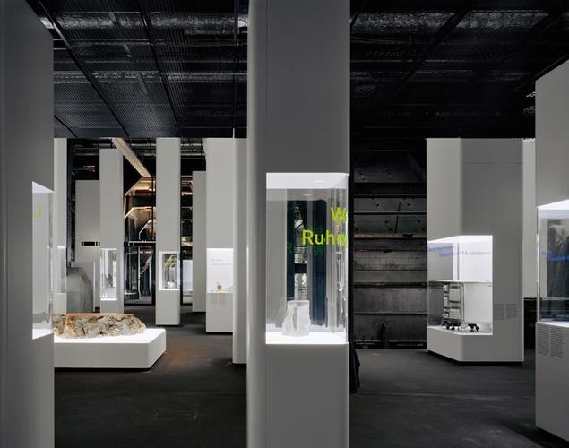 Ruhr Museum Essen Kohlenwäsche Zeche Zollverein HG Merz Ebene Gegenwart