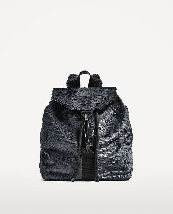 Image 2 of SEQUINNED BACKPACK from Zara