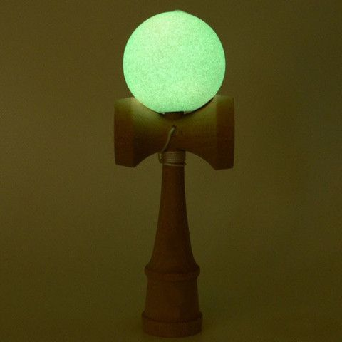 "Glow-In-The-Dark Kendama - only $16! This is apparently the ""hot item"" at my kids' school this year!"
