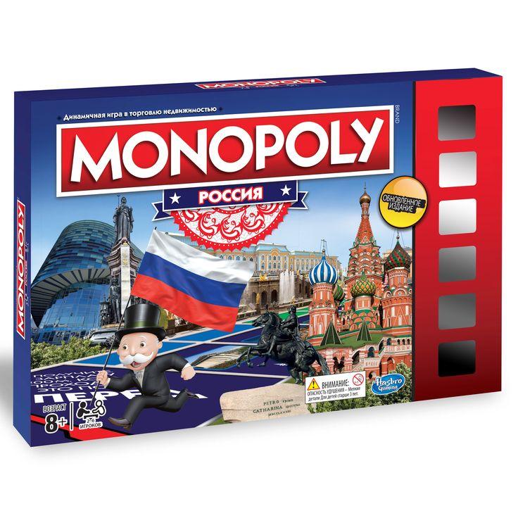 Настольная игра «монополия. россия» hasbro gaming