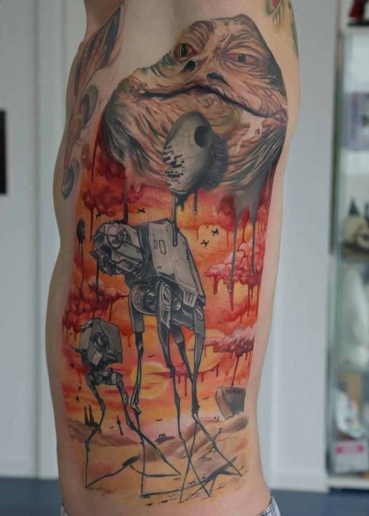 this is full of win!Star Wars Tattoo, Stars Wars Tattoo, Body Art, Salvador Dali, Tattoo Design, Tattoo Ink, Dali Tattoo, Cool Tattoo, Starwars