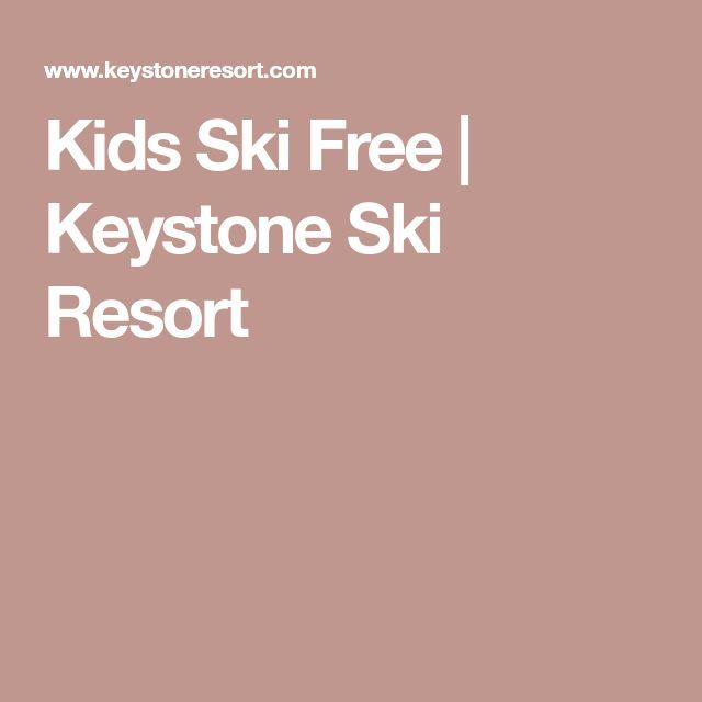 Kids Ski Free | Keystone Ski Resort