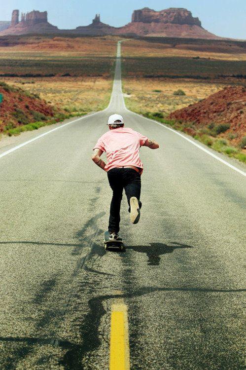 Monument valley # skating # skateboarding