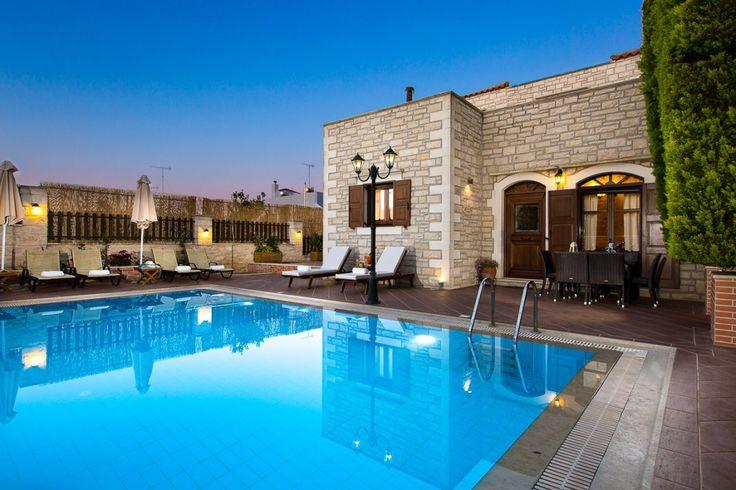 Executive family villa Myrtia with private pool, Atsipopoulo   Cretico