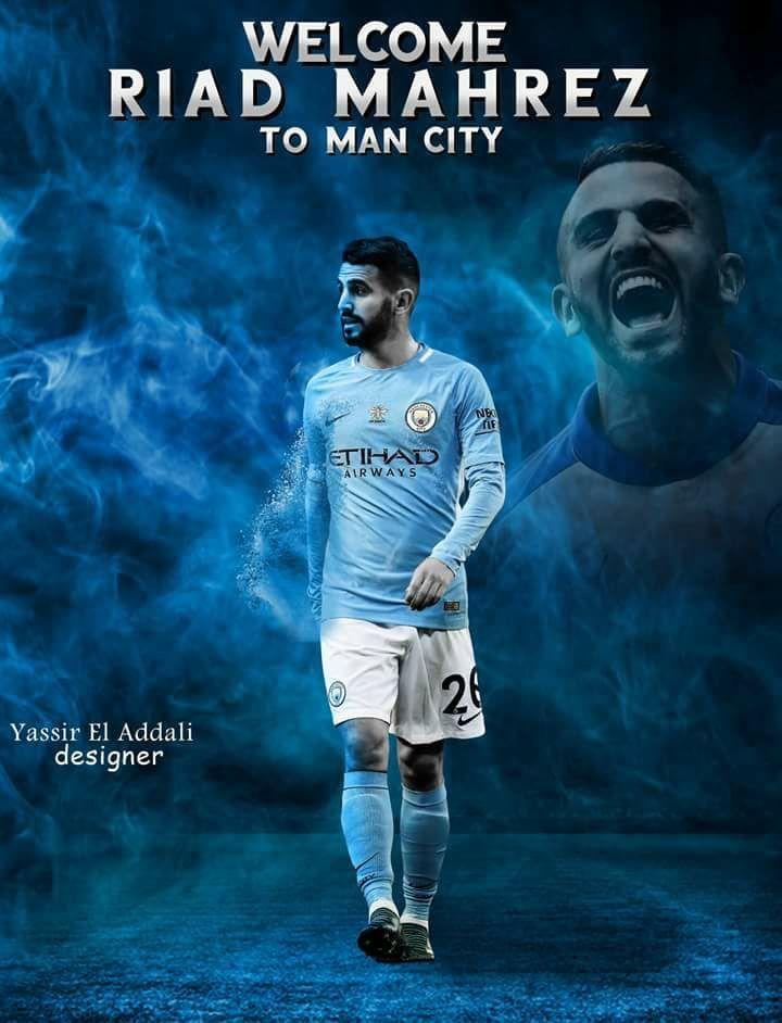Riyad Mahrez Man City Wallpaper Manchester City City Best man city wallpapers