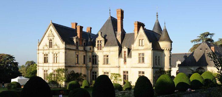 Chateau de la Bourdaisiere. Near Tour. sleeps up to 50 guests