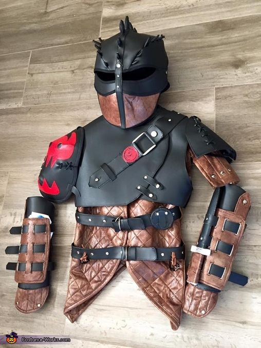 Hiccup the Dragon Trainer Homemade Costume                              …