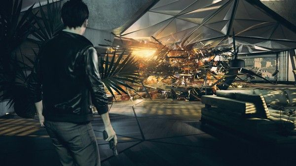 The two sides of 'Quantum Break' on Xbox One