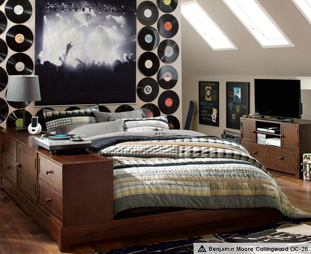 Ultimate Ollie Bedroom | PBteen He Might Like The Music Theme.