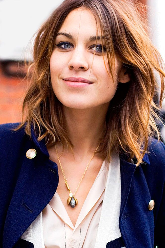 want her hair without putting in the effort to style it