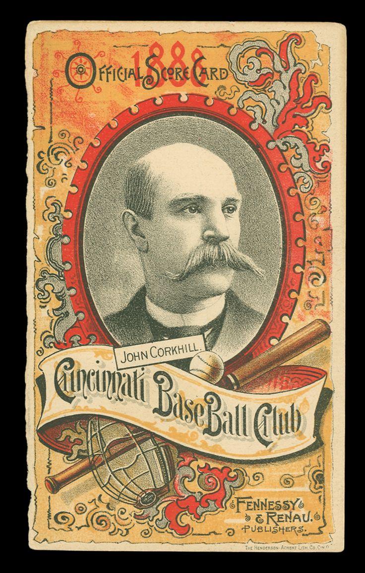 1888 Cincinnati Reds Baseball card