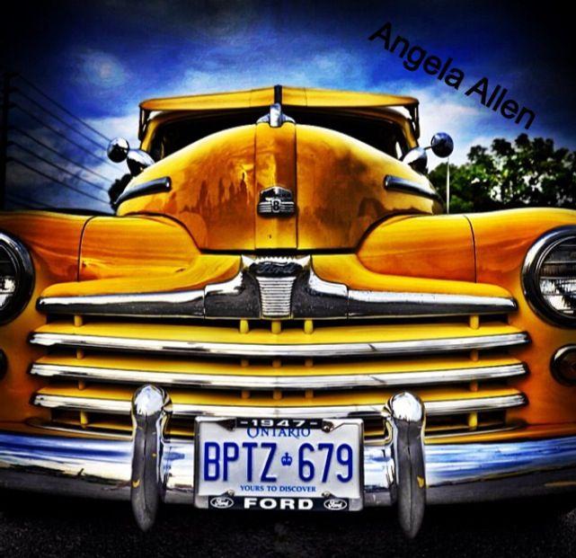 Marmora #7 Classic Cruisers car show in Marmora Ontario.