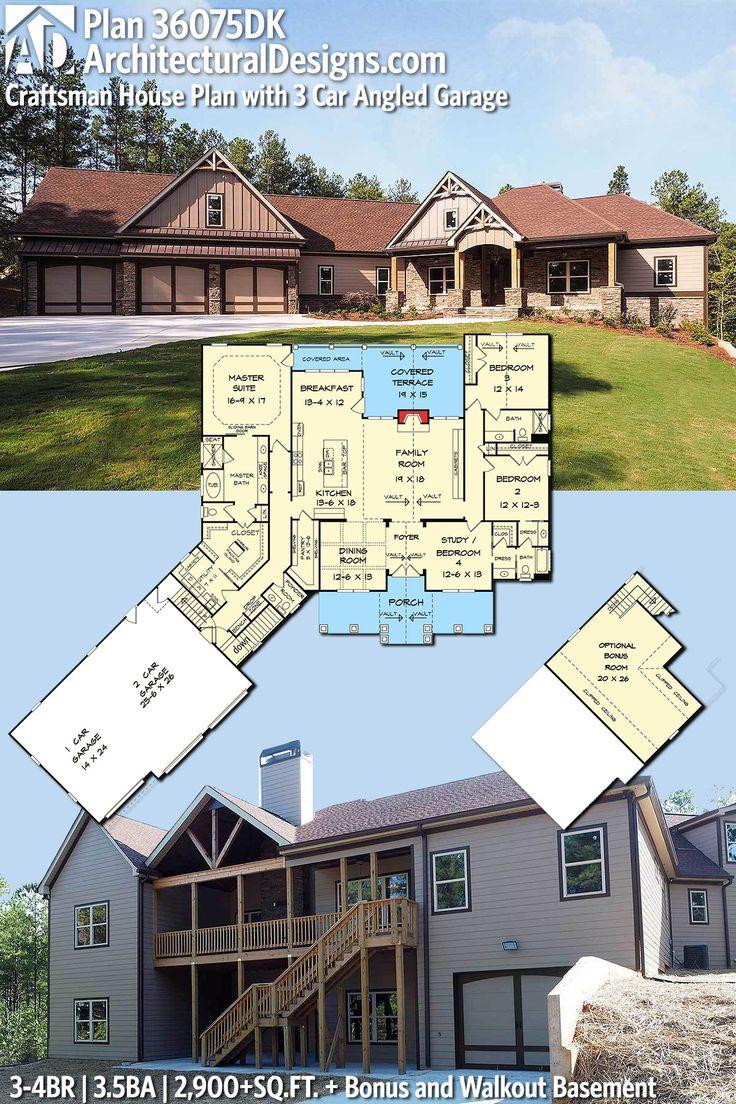 Architectural Designs European Cottage House Plan 36075DK