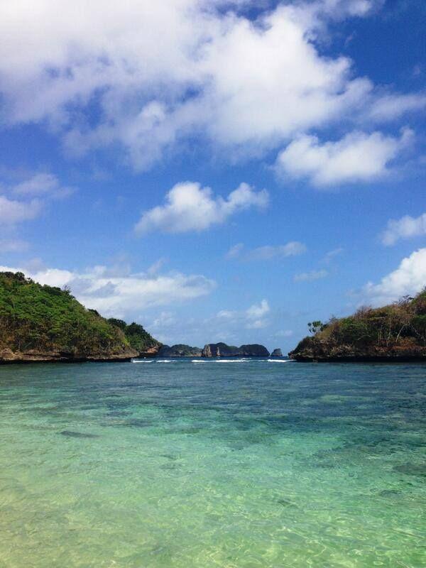 Keindahan Pantai Clugup Yang Tersembunyi