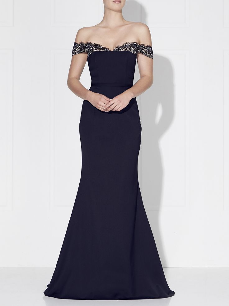 Love Honor - Selena Gown Navy