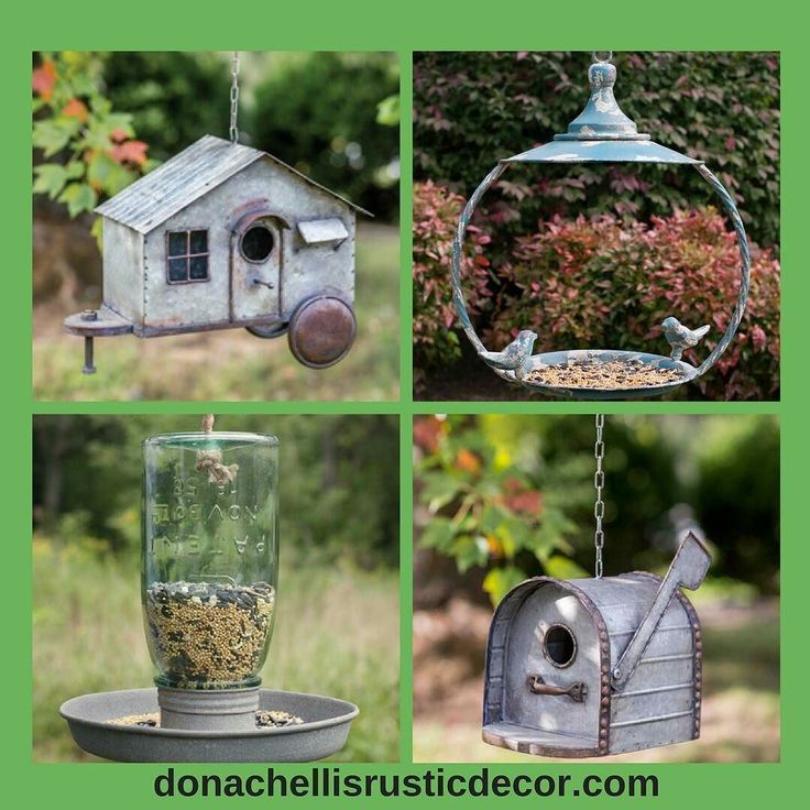 Please remember your fine feathered friends when updating your decor. Winter will be here before you know it and they will appreciate our rustic bird feeders and bird houses. And you will love the look! Link is in our bio.  #garden #gardens #vintage #farmhouse #farmhousestyle #countrydecor #decor #patio #patiodecor #countrygarden #vintagestyle #vintagedecor #gardendecor #instagood #shabbychic #rusticdecor #birdfeeder #birdhouse #ff