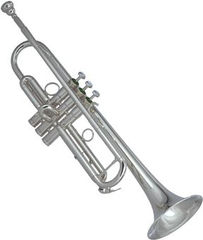 Image of Schilke Model S22 Bb Trumpet, Silver Plated
