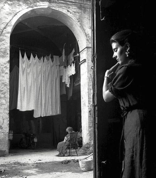 Vittorio PandolfiNapoli, 1950