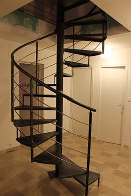 escalier m tallique colima on nimes al s gard 30 outdoor staircase pinterest. Black Bedroom Furniture Sets. Home Design Ideas